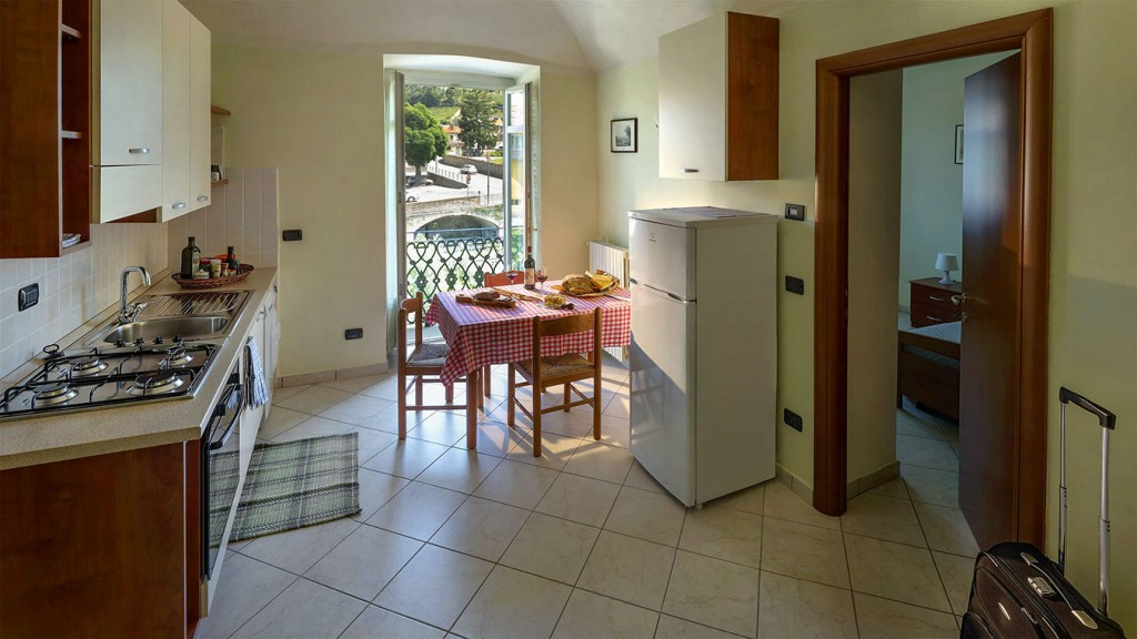 Casa Vacanze Fusina - Soggiorno (photo by Corrado Morando)