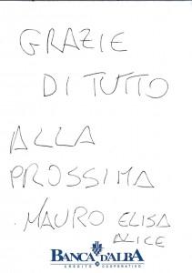 Casa Vacanze Fusina (Dogliani - Langhe) - Recensione Mauro, Elisa e Alice
