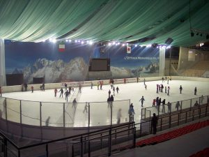 Casa Fusina (Dogliani) – pattinaggio sul ghiaccio