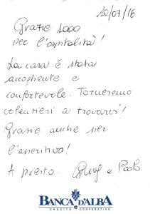 Casa Fusina (Dogliani) - Recensione Paolo