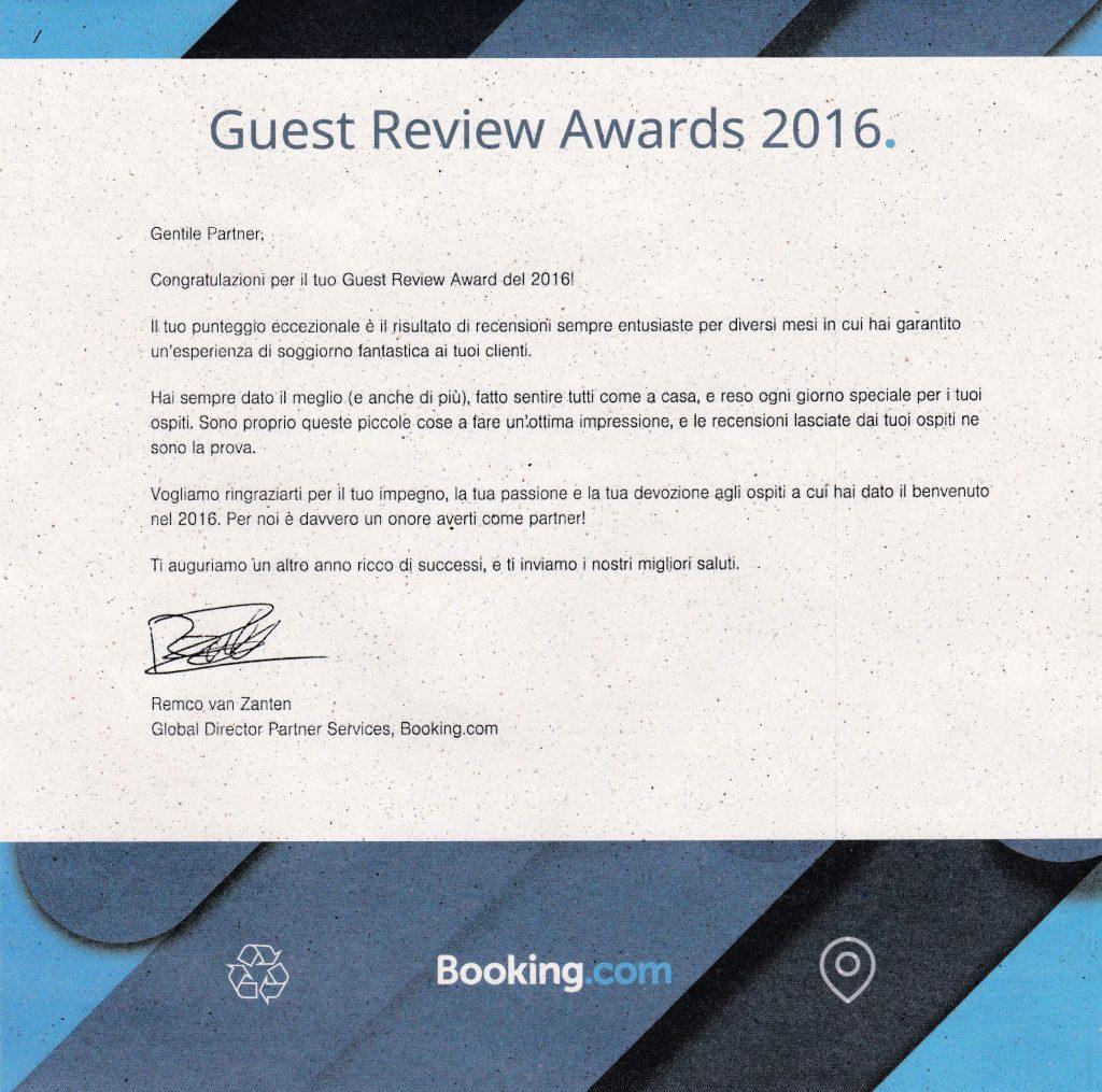 Casa Vacanze Fusina (Dogliani) - Guest Review Awards 2016 Booking.com