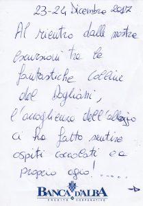 Casa Vacanze Fuisna (Dogliani) – Recensione Milena & Roberto