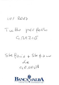 Casa Vacanze Fuisna (Dogliani) - Recensione Stefania & Stefano