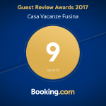 Vinto il Guest Review Awards Booking.com 2017
