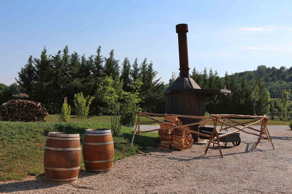 Casa Vacanze Fusina (Dogliani) - Open Garden Baladin: braciere