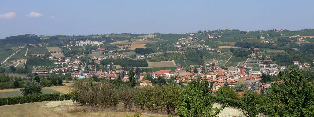 Casa Vacanze Fusina (Dogliani) - panorama sulla città