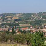 Casa Vacanze Fusina (Dogliani) – panorama sulla città di Dogliani