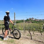 Biciclettando in Langa