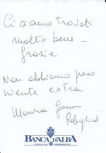 Casa Fusina (Dogliani) - Recensione Giuseppe Rebagliati