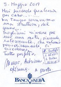 Casa Fusina (Dogliani) - Recensione Mauro & Adriana