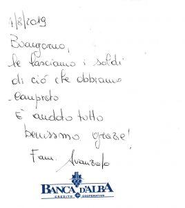 Casa Vacanze Fusina (Dogliani) - Recensione Famiglia Avanzato