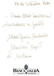Casa Vacanze Fusina (Dogliani) - Recensione Maria Grazia & Maurizio